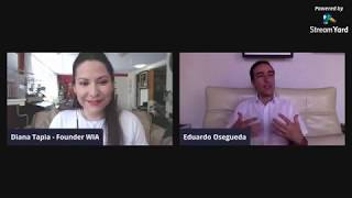 """Eduardo Osegueda, """"Spirituality in times of crisis"""" an Interview with Diana Tapia"""