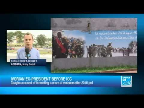 Gbagbo faces ICC over election violence