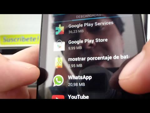 Cómo eliminar aplicaciones de mi teléfono Android Huawei Ascend Y300 Y511 Y220 Y530 Y320 Y210