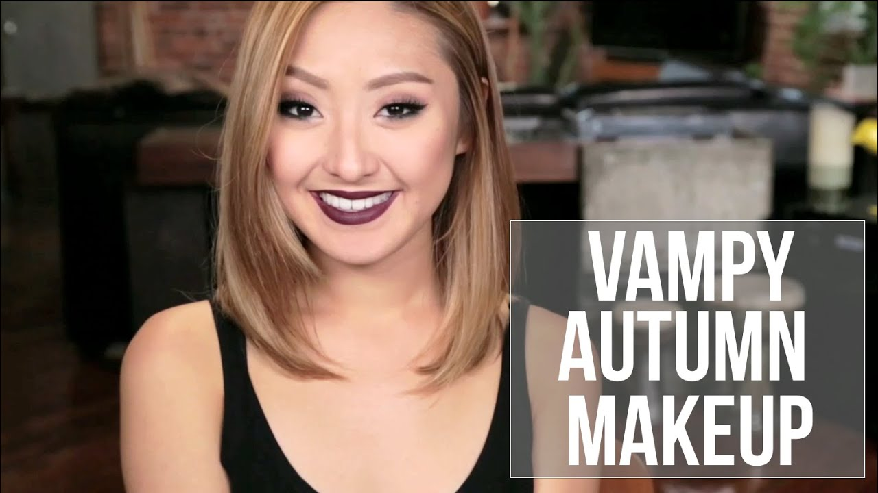 Fashionista804 Everyday Makeup Vampy Autumn Makeup