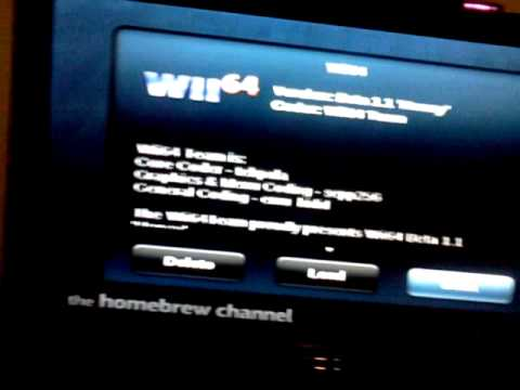Nintendo Wii: Homebrew Channel & Emulators