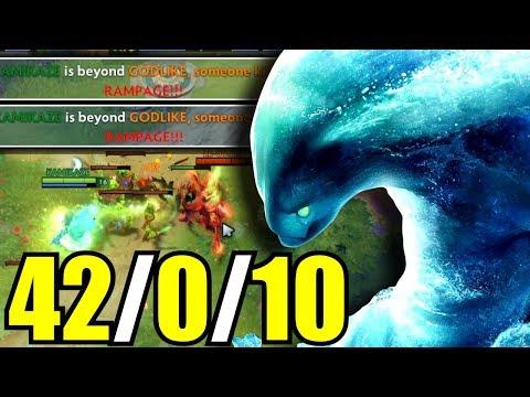 BEST MORPHLING? - Not Human 42 Kills Morphling by Kamikaze 7.07 | Dota 2