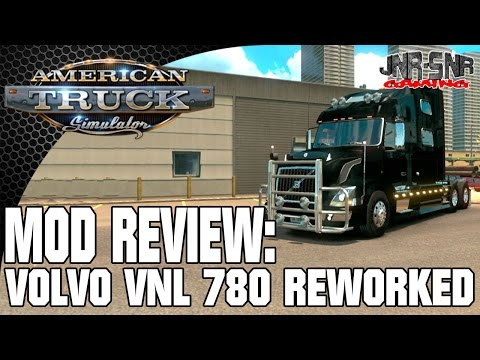 ATS MODS   Volvo VNL 780 Reworked   AMERICAN TRUCK SIMULATOR MOD REVIEW   ATS MOD REVIEW