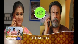 KALYANA VEEDU | TAMIL SERIAL | COMEDY | PARVATHI & PADAMAVATHI DISCUSSION TO KANNAN