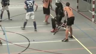 Amazing skills and defence saves a goal