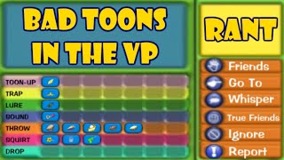 TTR Rant ~ Low Toons In The VP Lobby