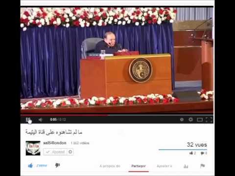 Ce ke la l'ENTV a caché, Bouteflika parle avec les morts