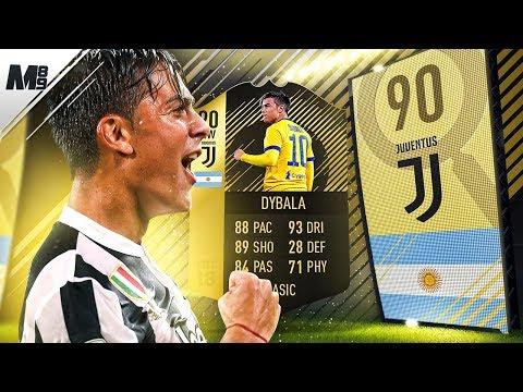 FIFA 18 SIF DYBALA REVIEW | 90 SIF DYBALA PLAYER REVIEW | FIFA 18 ULTIMATE TEAM