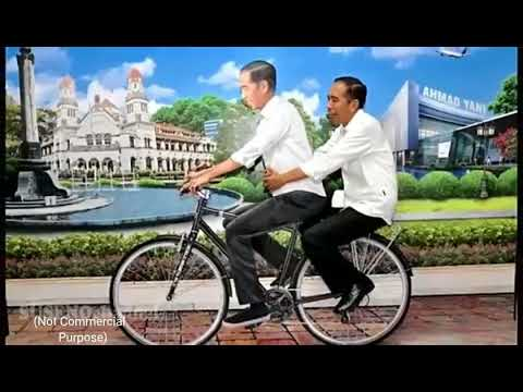 Seraut Wajah ~ Tribute to Bpk Jokowi