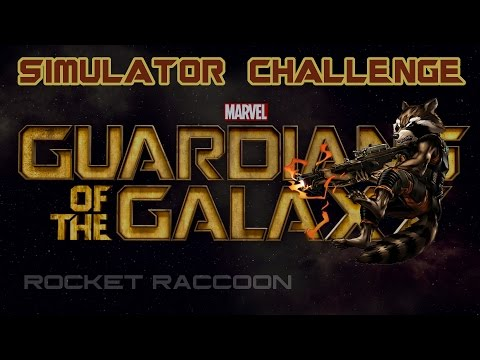Marvel Avengers Alliance: Guardian Rocket Raccoon Simulator Challenges
