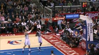Jamal Crawford alley oop to Blake Griffin