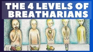 4 levels of breatharianism