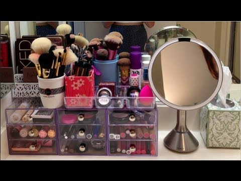 College Makeup Collection & Storage!