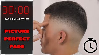 Flawless FADE technique - BARBER Tutorial