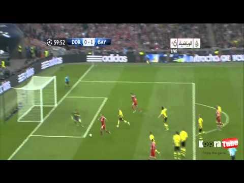 Bayern Munich vs Borussia Dortmund 2-1 Champions League FINAL 2013