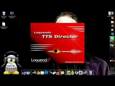 Como descargar e instalar loquendo tts director 7 ( Tutorial 2012 )