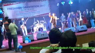 Freshmen Orientation 2017, Song, Mousumi, Stamford University Bangladesh, 61 & 62