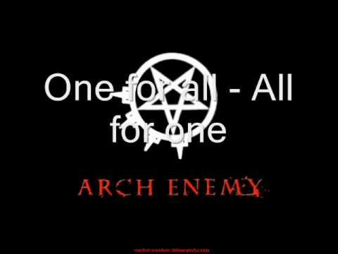 arch enemy - nemesis (lyrics)