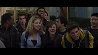 Peter Parker vs Flash   High School Life   The Amazing Spider Man 2012 Movie CLIP HD