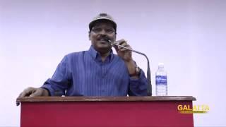 Director K Bhagyaraj at Legend 2014, Sathyabama University