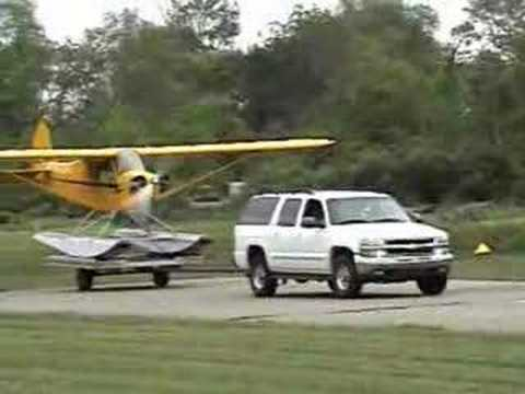N758BB Seaplane Trailer Launch 6-7-08