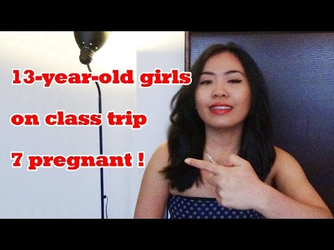 7 Siswi Hamil Ketika Tamasya Kelas Part 1 :: 13-years-old-girls on class tripp - 7 pregnant!
