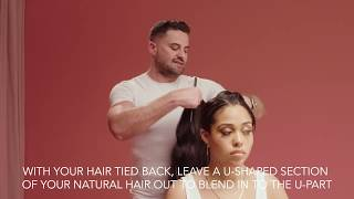 JORDYN WOODS X Easilocks  U-Part TUTORIAL