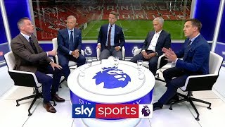 Gary Neville and Jamie Carragher have HEATED disagreement over tactical set-up! | Super Sunday
