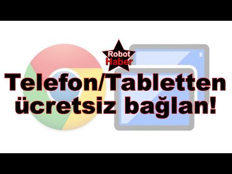 Android telefondan bilgisayarınıza ücretsiz bağlanın! | Chrome Uzaktan Masaüstü