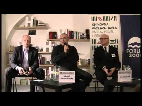 Democracy in Russia Today | 2014 Forum 2000