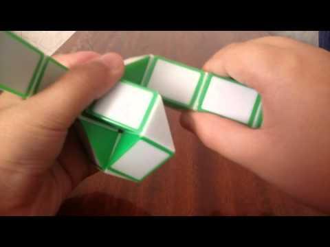 Как сделать лебедя из змейки рубика. смотреть фото и видео, своими руками в домашних условиях на Vse-Delay-Sam.Ru