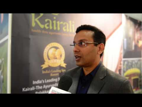 Abhilash Ramesh, executive director, Kairali Ayurvedic Group