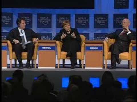 Davos Annual Meeting 2006 - Opening Plenary (German)