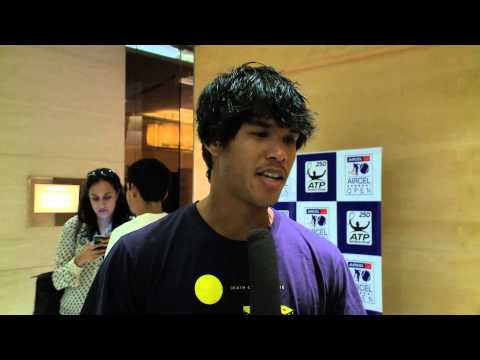 ACO 2014 - Player Interview  Somdev Devvarman