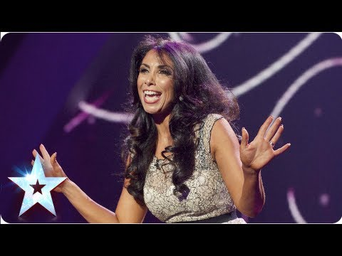 Francine Lewis entertains all with her impressions | Semi-Final 4 | Britain's Got Talent 2013