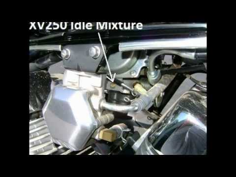 Yamaha Virago  Carburetor Adjustment