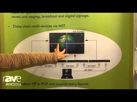 ISE 2016: Partilink Showcases HDMI 2.0 Video Processor