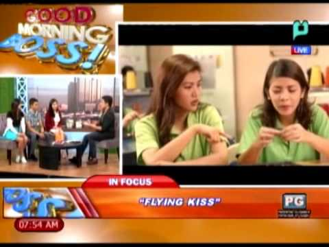 [good Morning Boss] Panayam Ukol Sa Philippine Indie Movie flying Kiss [03|17|14] video
