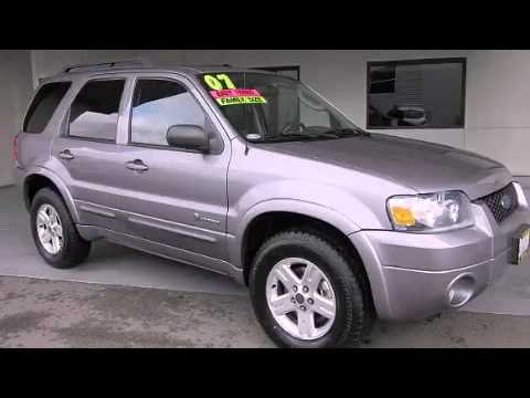 2007 Ford Escape Hybrid Antioch CA
