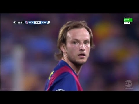 Ivan Rakitic vs Bayern Munich 06/05/2015 (Home) Spanish Commentator HD