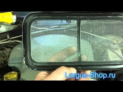 Установка сетки своими руками рено дастер