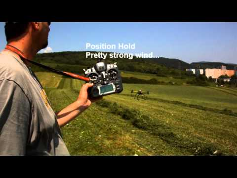 DJI Naza with GPS Demo