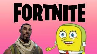 Fortnite Skins Portrayed By Spongebob