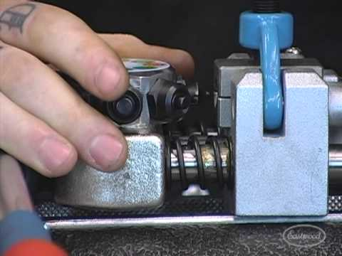 How To Flare Brake Line Tubing Demonstration Live with Eastwood