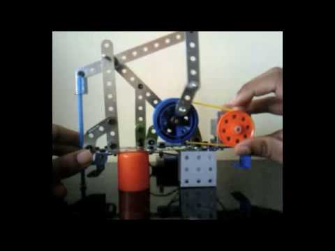 Mechanics 4 Bar Mechanism Project