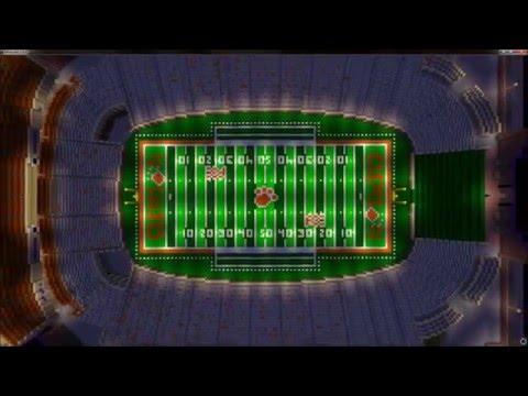 Clemson Memorial Stadium - Death Valley - Minecraft Creative Build