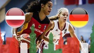 Латвия до 20 (Ж) : Германия до 20 (Ж)