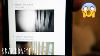 'GHOST' CAUGHT ON BABY MONITOR!