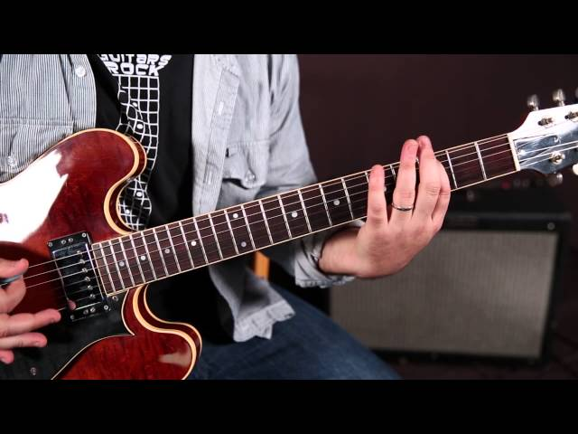 "How to Play ""Fortunate Son"" by Creedance Clearwater Revival, CCR - Guitar Lesson, Tutorial"