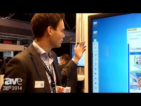 ISE 2014: Legamaster Demos DisplayNote Software Allows You to Collaborate